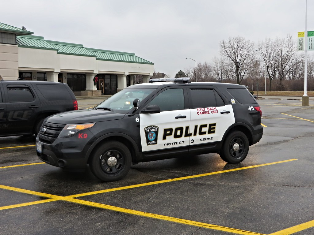 Il Glendale Heights Police Department K 9 Unit 6