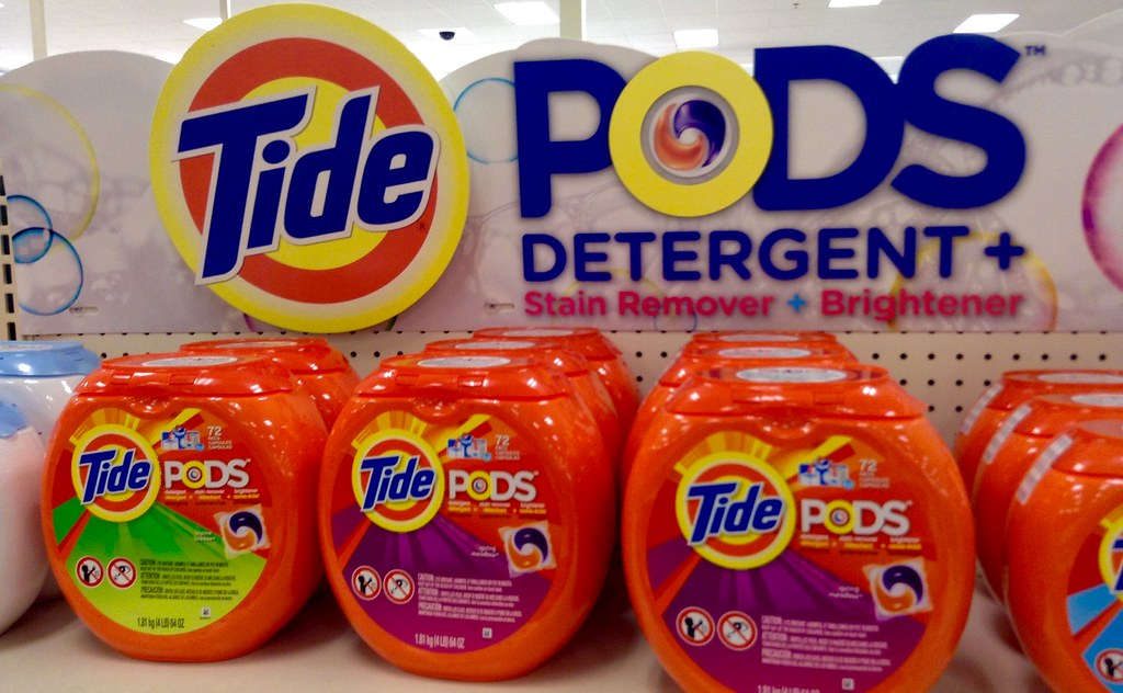 Dangerous challenge on social media focusing on laundry pods