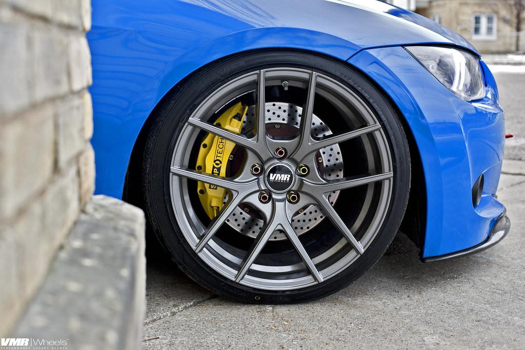 V803 Gunmetal 19 Quot Bmw E92 Santorini Blue V803 Gunmetal