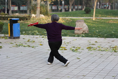 "Foto ""fan tai ji quan, Anyang, China"" by V.T. Polywoda - flickr"