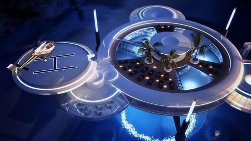 Water Discus Hotel - a fantastic underwater hotel in Dubai