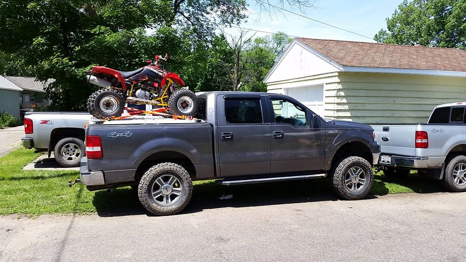 Ford F150 King Ranch >> An ATV Carrier on a Ford F150 | A DiamondBack ATV Carrier on… | Flickr