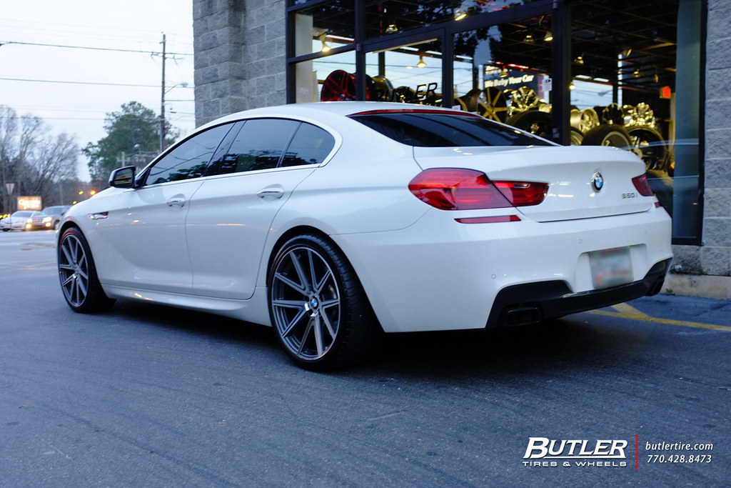 Bmw 650i Gran Coupe With 20in Tsw Rouge Wheels
