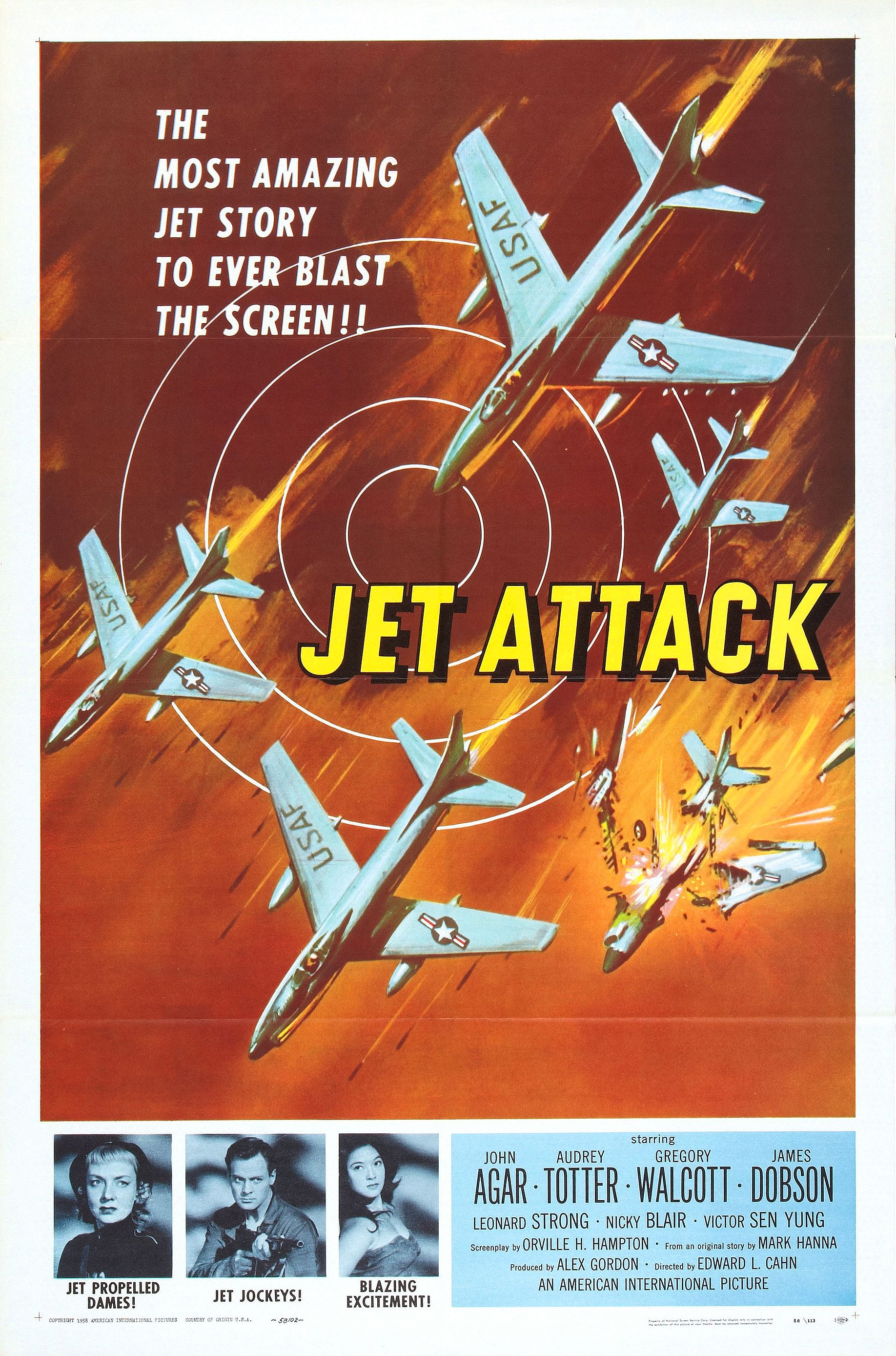Jet Attack (1958)