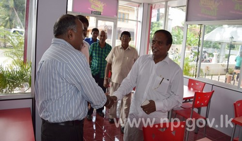 Canteen Facility in Jaffna Old Park Premises – 15 January 2015