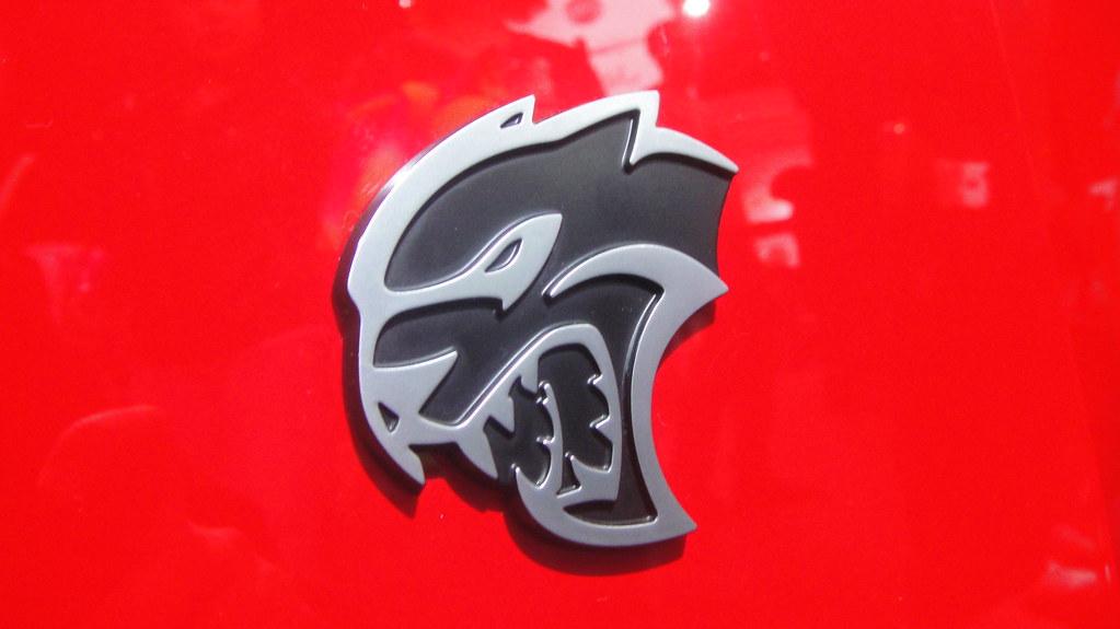 Dodge Challenger Srt Hellcat Emblem Yahya S Flickr