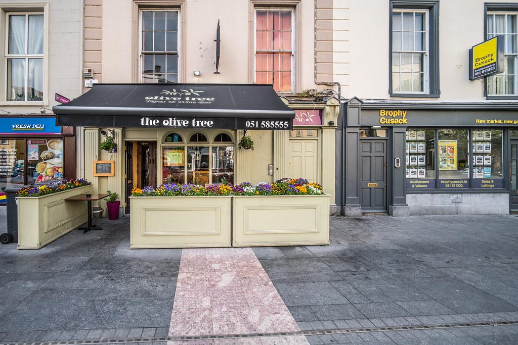 Olive Tree Restaurant Exeter Menu