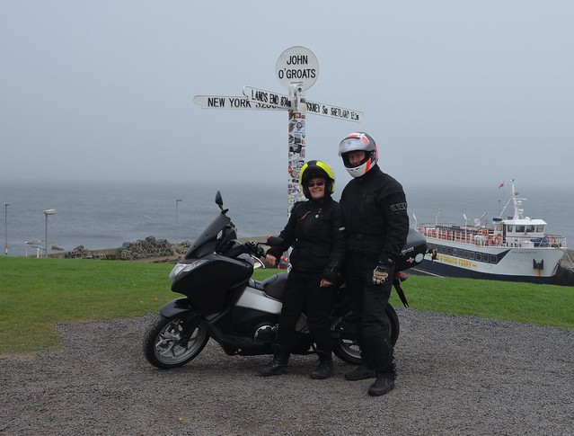 John O'Groats: Alice & Howard
