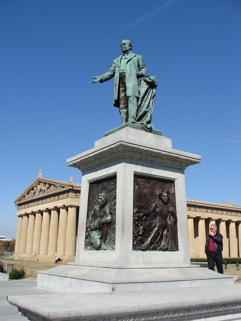 john w thomas statue centennial parknashville tn