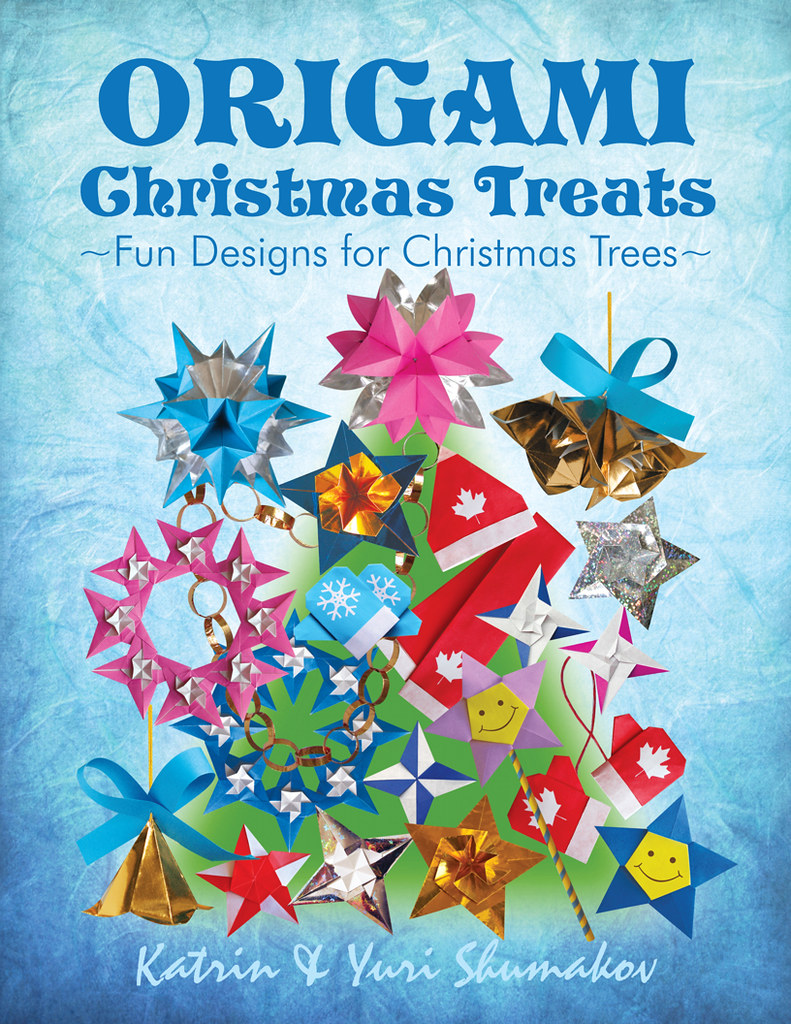 ORIGAMI CHRISTMAS TREATS: Fun Designs for Christmas Trees ... - photo#8