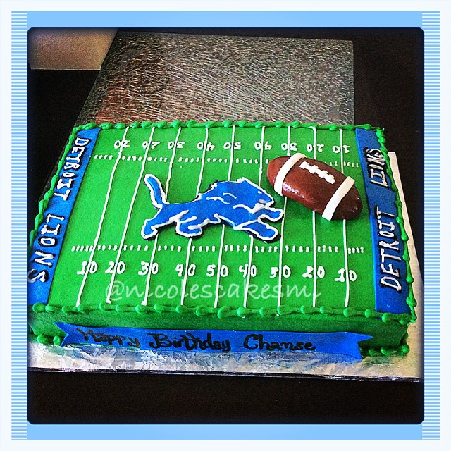 Birthday Cake Decorations Football