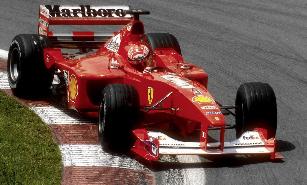 Michael Schumacher Ferrari F1 2000 Canada 2000 5