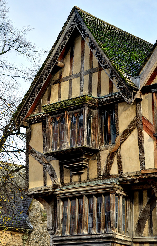 Medieval Building Oxford Detail This 14th Century