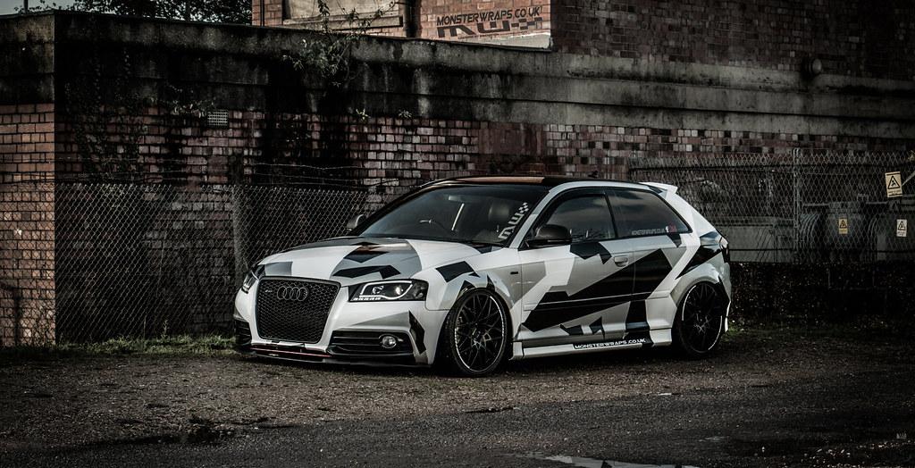 Audi Camo Design By Monsterwraps Co Uk Audi Camo Wrap