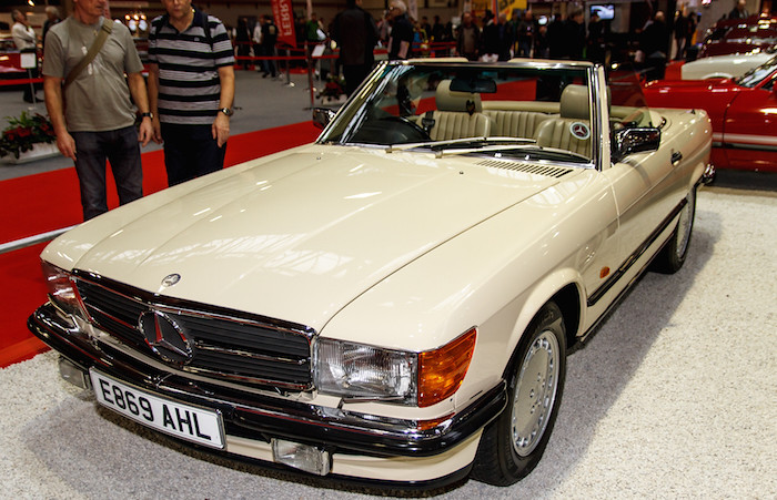 Mercedes benz lancaster insurance classic motor show for Mercedes benz lancaster