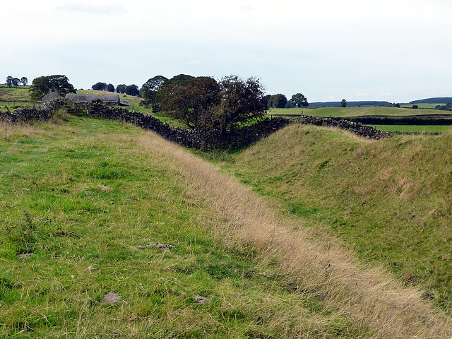Ditch near Chapel House