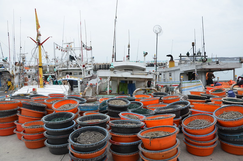底延繩釣船維持生計的成本頗高。攝影:潘佳修。