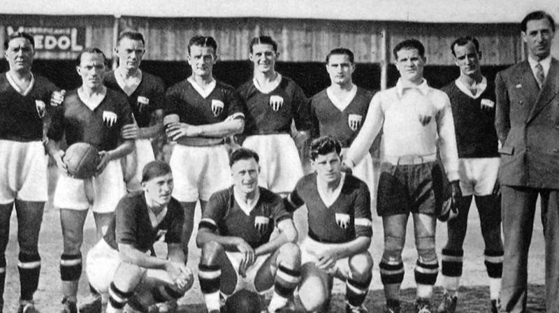 Il Catania 1933/34, guidato da Kertész alla prima promozione in B (Fonte: