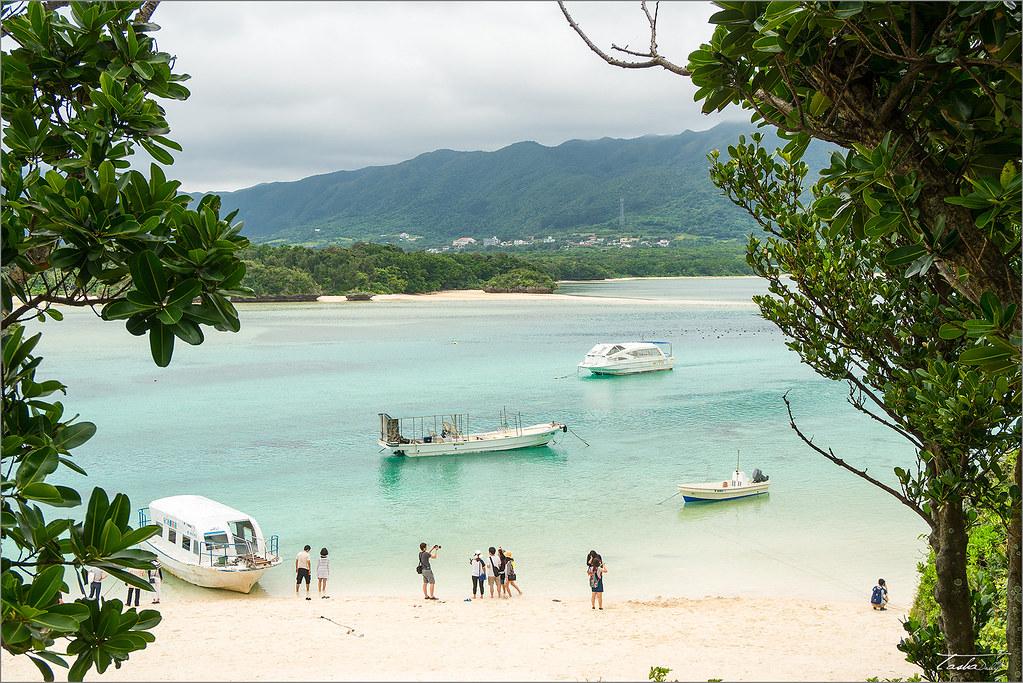 麗星郵輪︱川平灣.純淨海灘的日本馬爾地夫。2016麗星郵輪岸上觀光行程