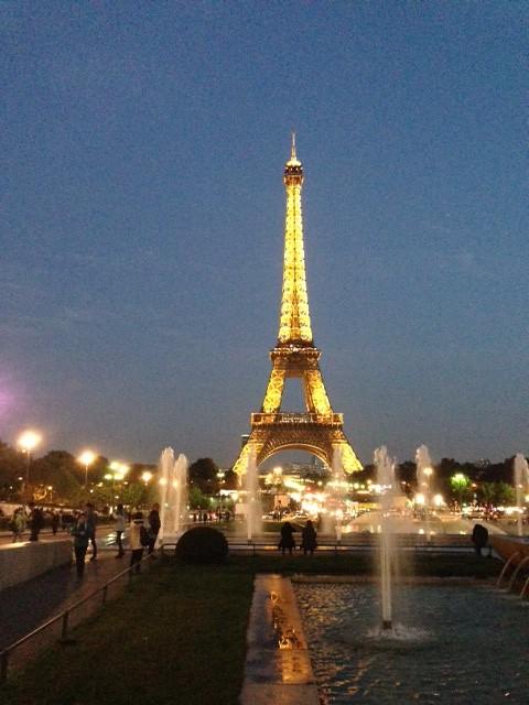 Light Up Eiffel Tower Christmas Decoration