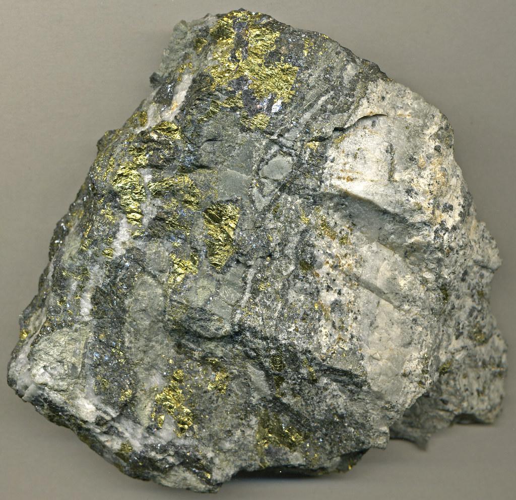 Gold Ore Quartz Auriferous sulfidic hy...