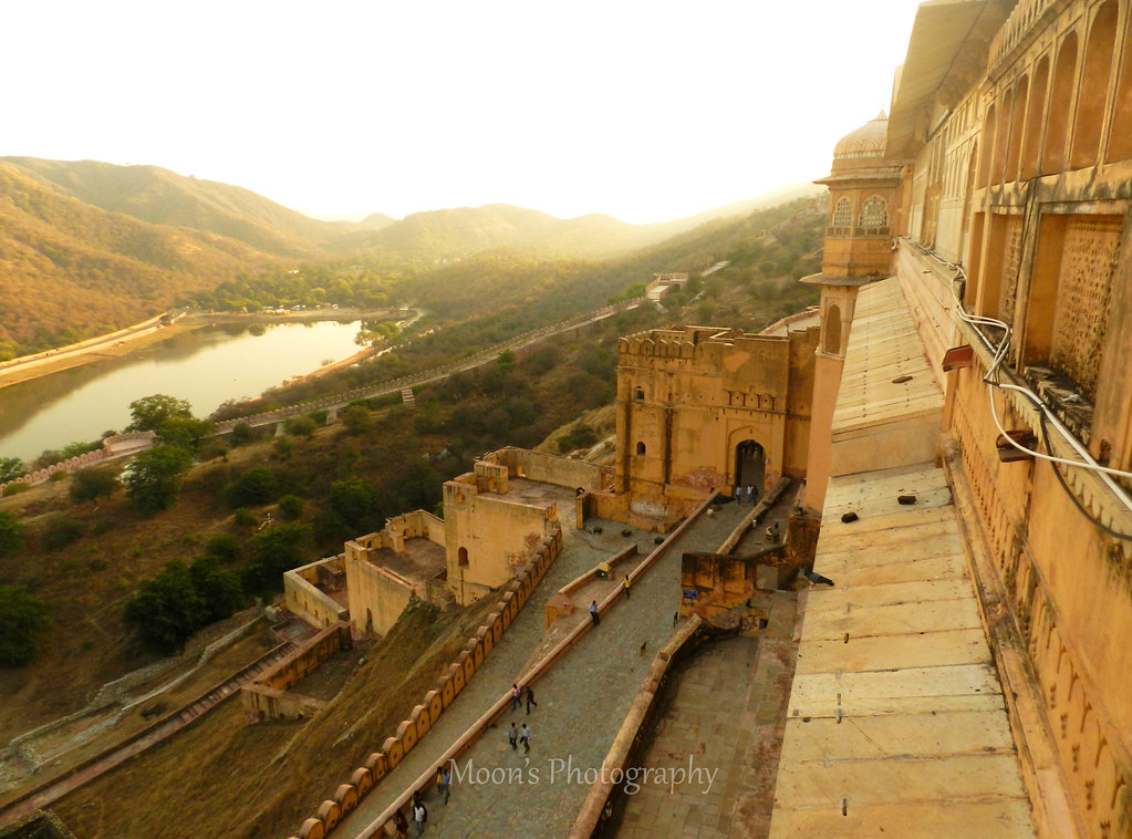 amer fort, jaipur, rajasthan, architecture