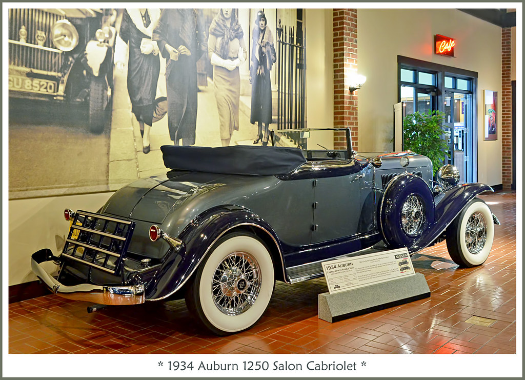 1934 auburn v 12 salon cabriolet visit to the gilmore. Black Bedroom Furniture Sets. Home Design Ideas