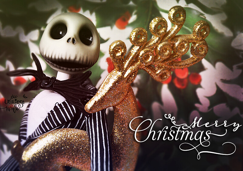Jack Skellington wishes you all Merry Christmas! | Merry Chr… | Flickr