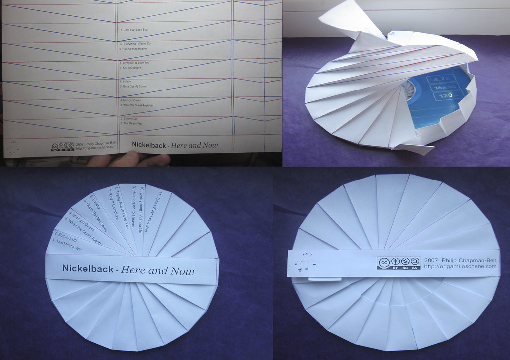 The Spiral Data Tato -- A Curiously Complex Origami CD Cas ... - photo#10
