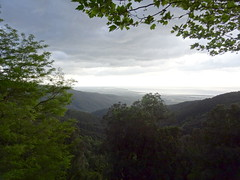 Vue du littoral depuis le village de Solaro