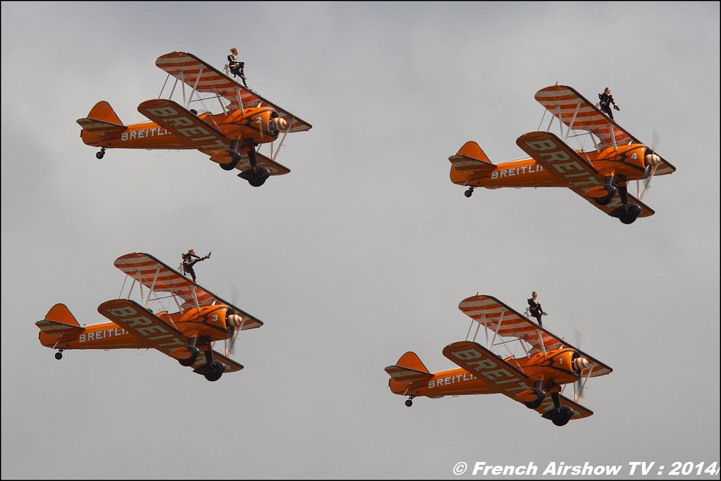 Breitling Wingwalkers Meeting Aerien RIAT : Royal International Air Tattoo 2014