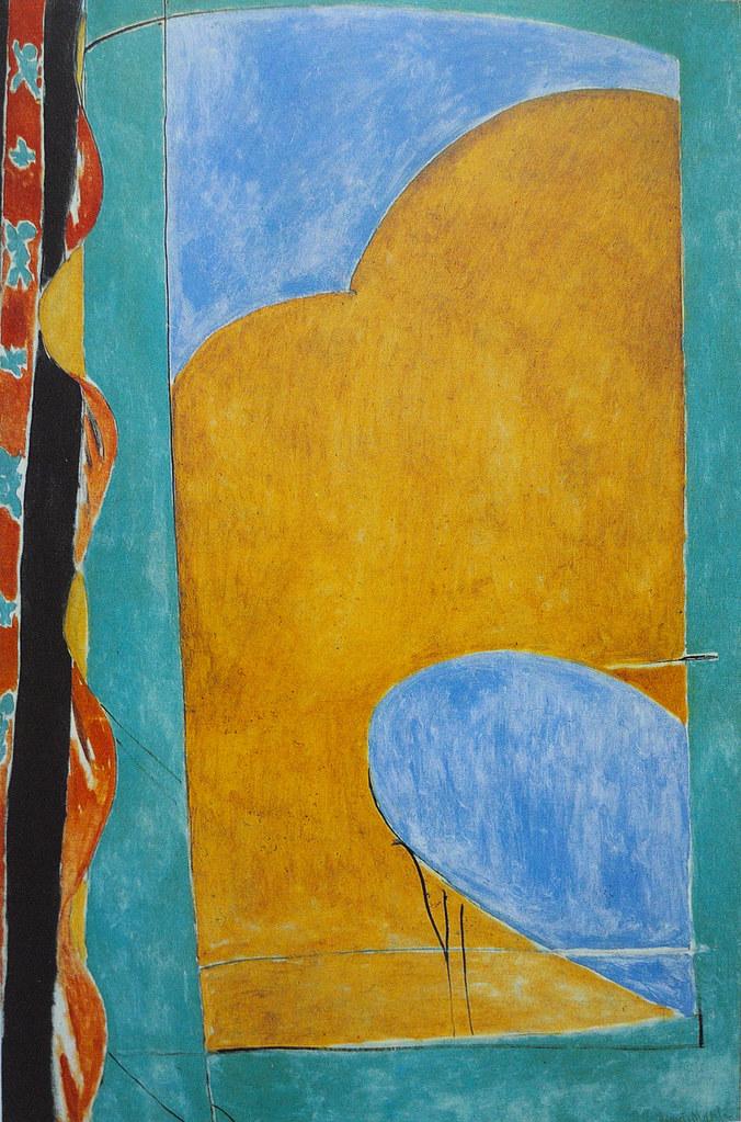 Henri matisse 1869 cateau cambr sis 1954 nice le ri for Matisse fenetre