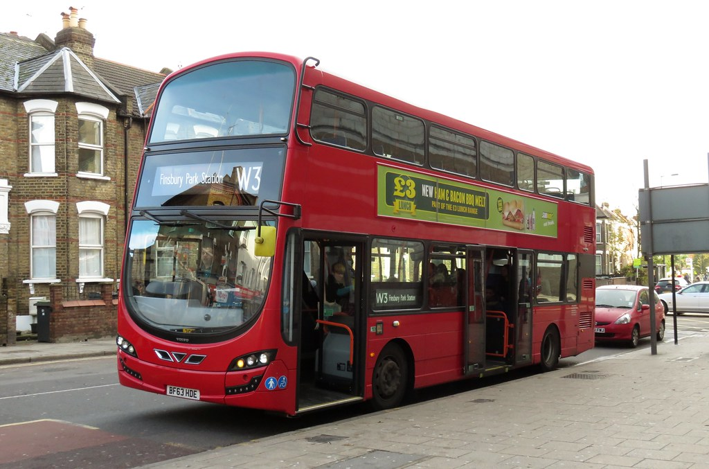 Arriva Bf63hde Wood Green 24th Nov 2014 Owned By Volvo C