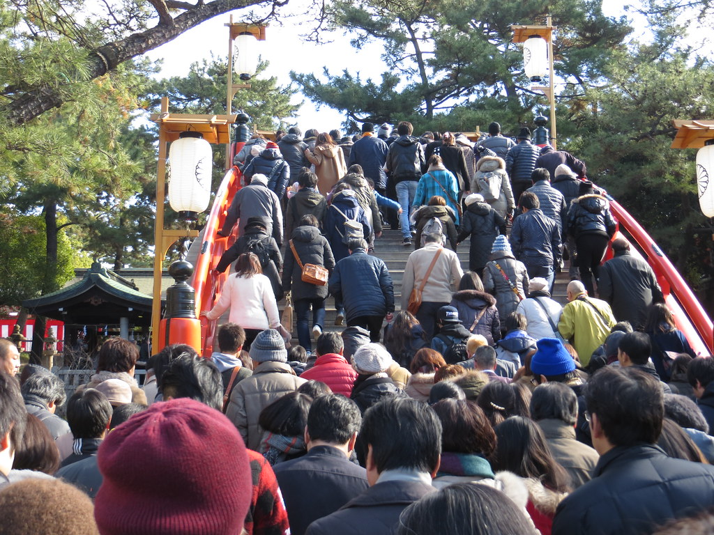 Happy New Year! - Sumiyoshi Taisha, Shrine - Osaka