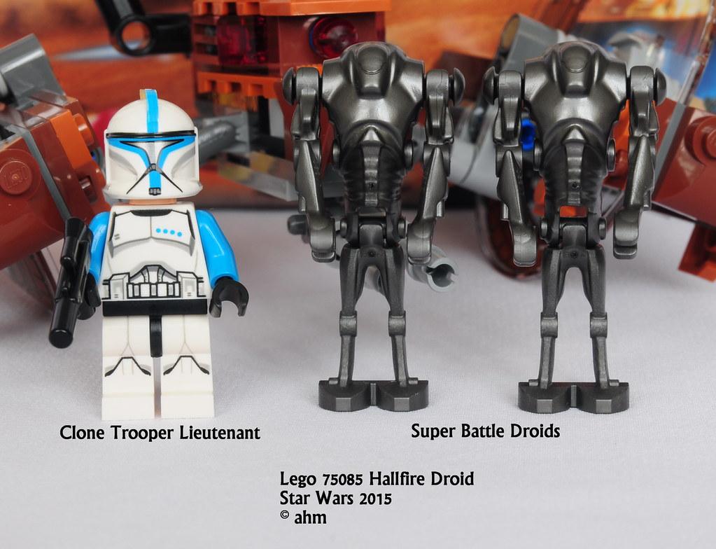 Star wars lego 75085 hailfire droid star wars lego 75085 - Lego star wars vaisseau droide ...