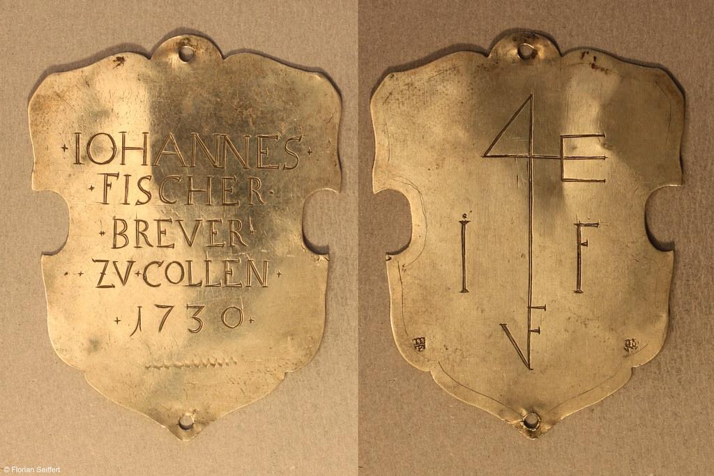 Koenigsschild Flittard von fischer iohannes aus dem Jahr 1730