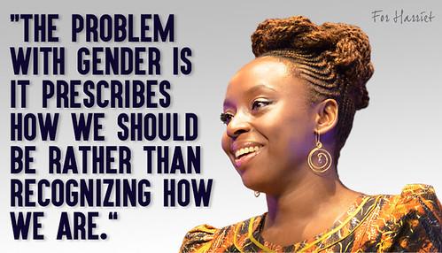 Una feminista feliz: Chimamanda Ngozi Adichie