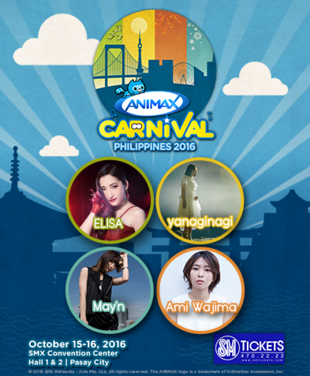 Animax Rolls Out Bigger, Better Animax Carnival Philippines 2016 This October