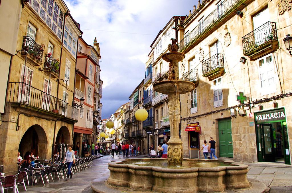 Ourense orense galice espagne 077 r a santo domingo - Hm calle orense ...