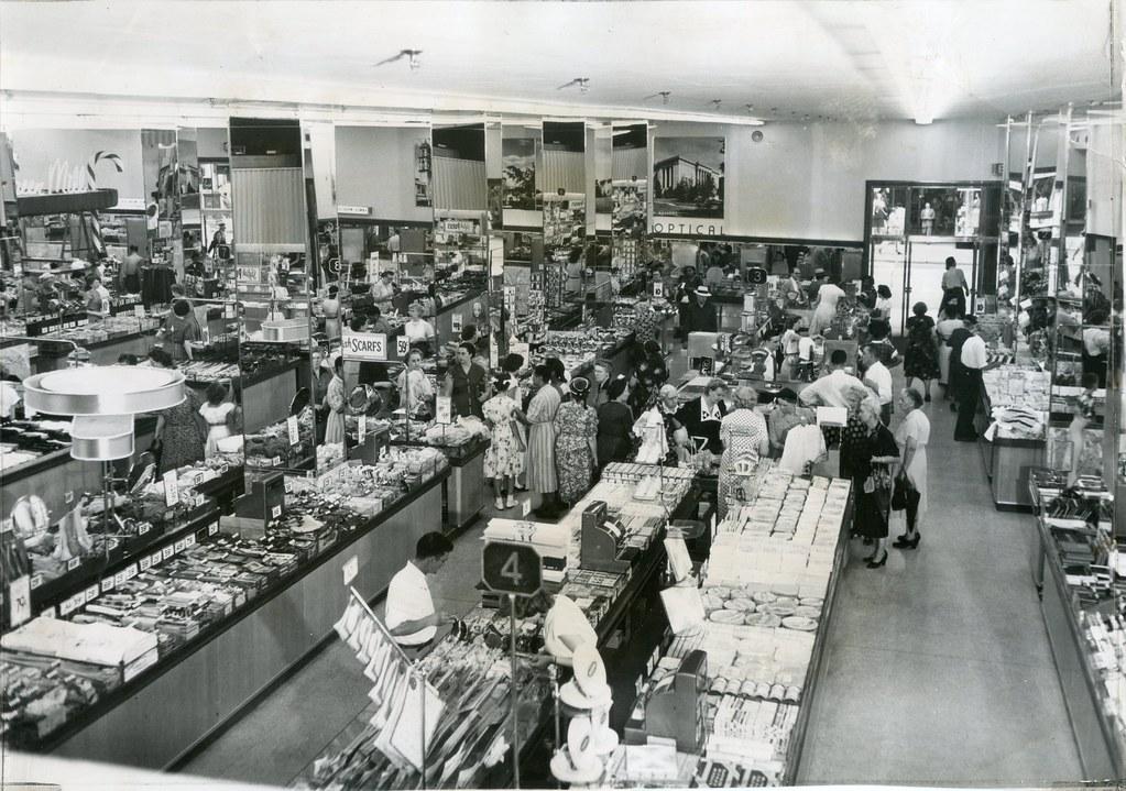 Press Photo Interior S.S.Kresge Store 1951 Kansas City ...