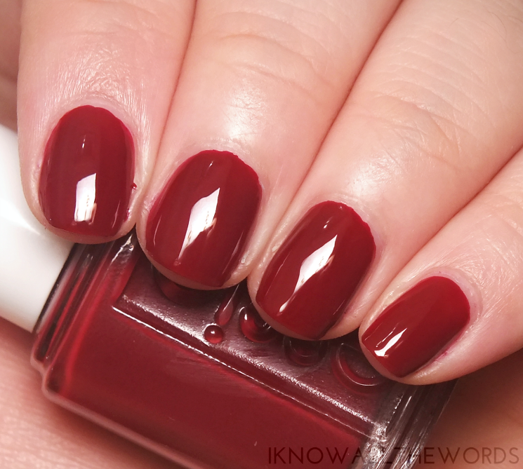Fall for Japanese | Essie Fall 2016 Collection | I Know all the Words