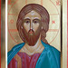 2014 Icône du Christ Pantocrator Sauveur / Christ the Savior Icon - Main de - Hand of Suzanne Sirois