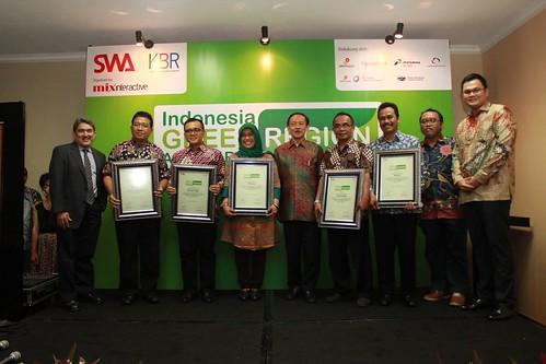 Indonesia Green Region Award 2014
