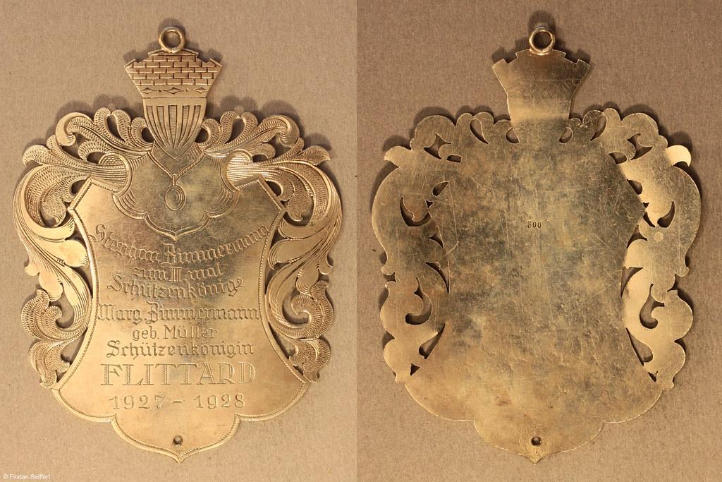 Koenigsschild Flittard von zimmermann stephan aus dem Jahr 1927
