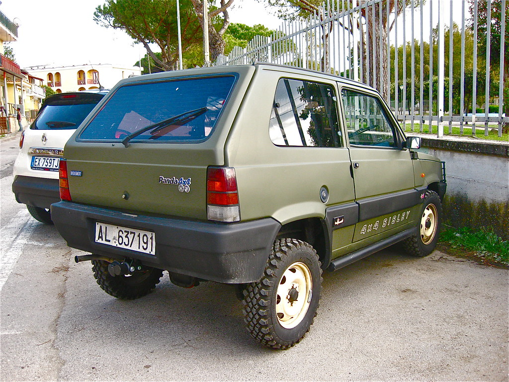 1989 fiat steyr puch panda 4x4 sisley the fiat panda was. Black Bedroom Furniture Sets. Home Design Ideas
