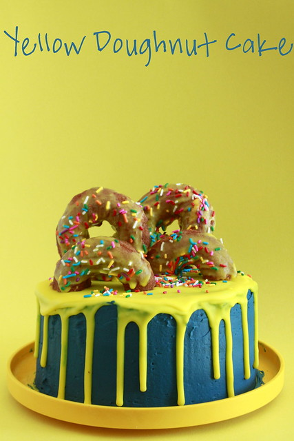 Yellow Doughnut Cake