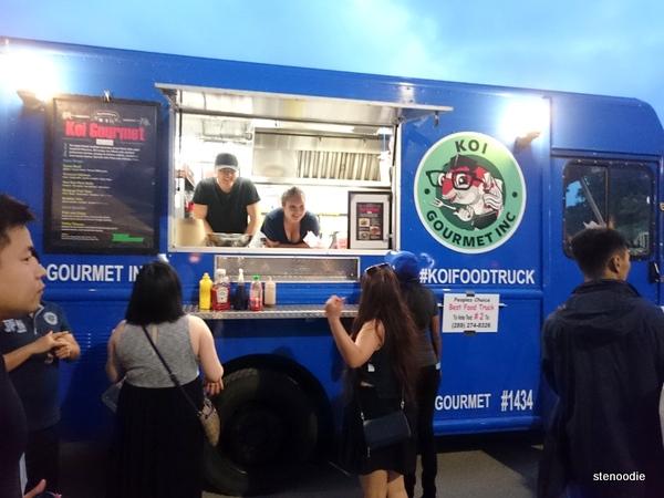 Koi Gourmet Food Inc. food truck