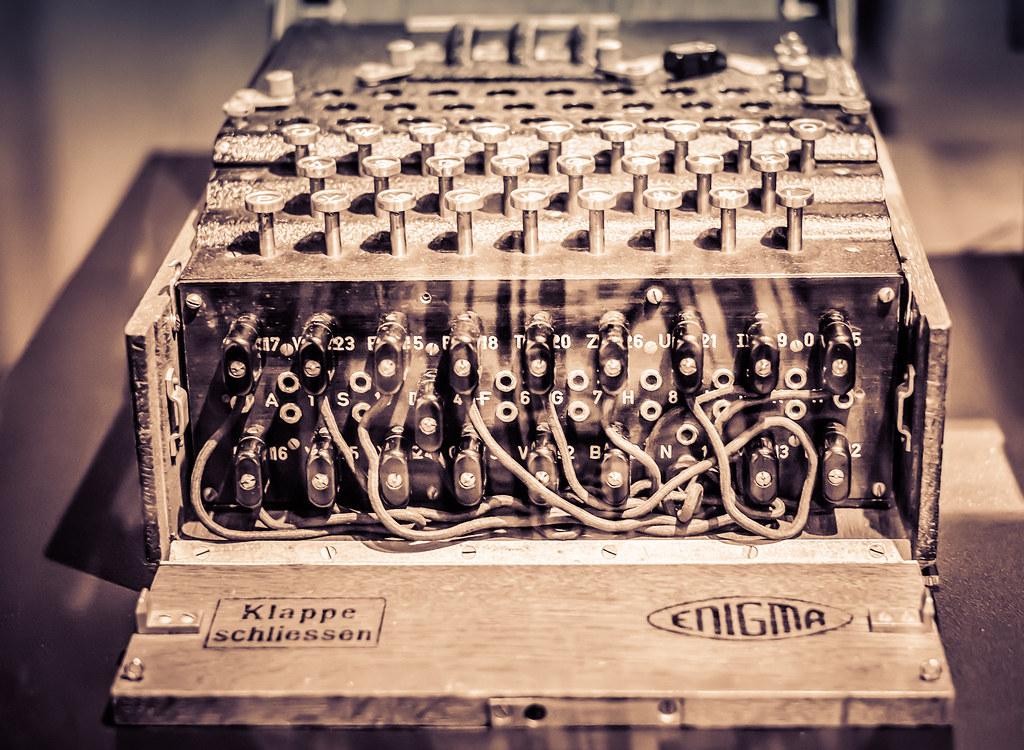 enigma machine   david perry   Flickr Enigma Machine Message