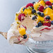 Raspberry Swirl Pavlova with Summer Fruits