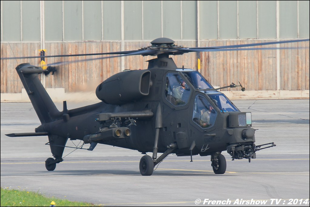 Agusta A.129 Mangusta AIR14 Payerne 2014 Canon Sigma France contemporary lens